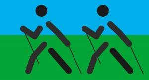 Abnahme für Sportabzeichen im Nordic Walking @ Sankt Ingbert   Saarland   Deutschland