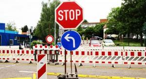 Kanalarbeiten in der Josefstaler Straße @ Sankt Ingbert   Deutschland