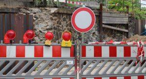 Vollsperrung der Karl-Custer-Straße @ Sankt Ingbert | Saarland | Deutschland