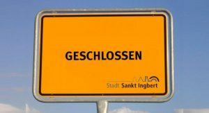 Zulassungsstelle am 30. Juli 2021 geschlossen @ Rathaus | Sankt Ingbert | Saarland | Deutschland