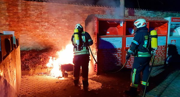 Containerbrand Hassel