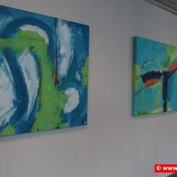 """St. Ingbert, Ausstellung """"Konfetti"""" in der Rathausgalerie"""