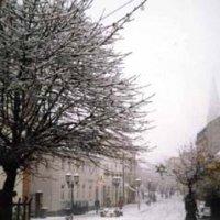 Wintereinbruch in St. Ingbert