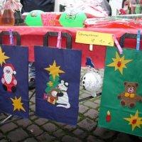 Weihnachtsmarkt um die Engelbertskirche 2002