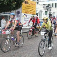 Mountainbike-Marathon in der Innenstadt St. Ingbert