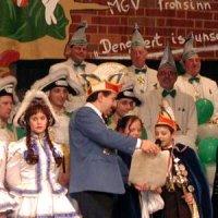Kappensitzung des MGV Frohsinn 2004