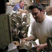 Osterhasenherstellung 2005