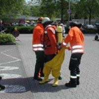 Offene Tür Feuerwehr