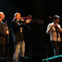 """Jazz Festival 2010: Dieter Ilg Trio, Auftakt der Welttournee zum Projekt """"Ärzte ohne Grenzen""""mit Nils Landgren & Funk Unit"""