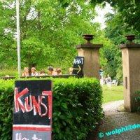 Kunstwiese beim historischen Annahof in Niederwürzbach