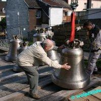 Die Glocken werden in St. Josef eingebaut
