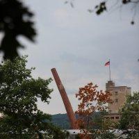Der Becker-Schornstein fällt