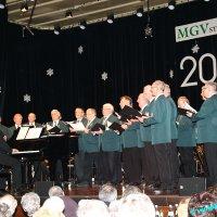 Neujahrskonzert 2014 MGV Frohsinn in voll besetzter Stadthalle
