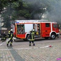 Schauübung der Feuerwehr St. Ingbert
