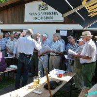 Pfingstsonntags-Frühschoppen beim Wanderverein Oberwürzbach.