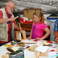 Ein Tag für Kinder bei der Initiative Alte Schmelz