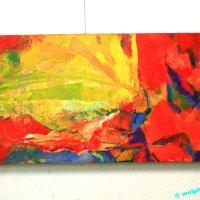 """""""Blühende Farbpracht"""" von Sabine Franke"""