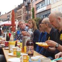 Open-Air Frühstück
