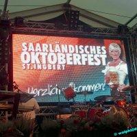 Fassbieranstich zum 7. Saarländischen Oktoberfest
