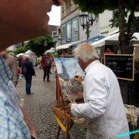 """Albert Weisgerber """"Nostalgiemarkt"""""""