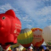 Heißluftballon- und Drachenfestival