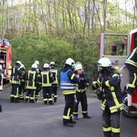 Gemeinschaftsübung der Feuerwehren